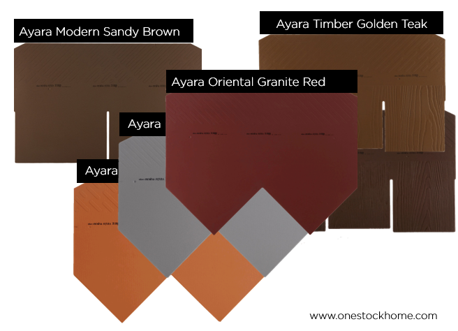 ayara roof tile fiber cement best price