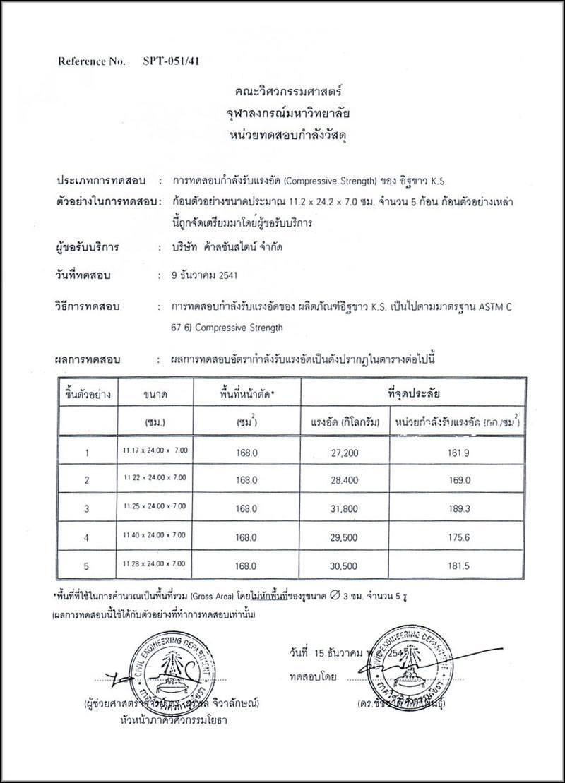 ks brick certificate