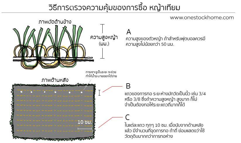 หญ้าเทียม,คุณสมบัติหญ้าเทียม,หญ้า,เทียม,grass,turf,ราคาถูก