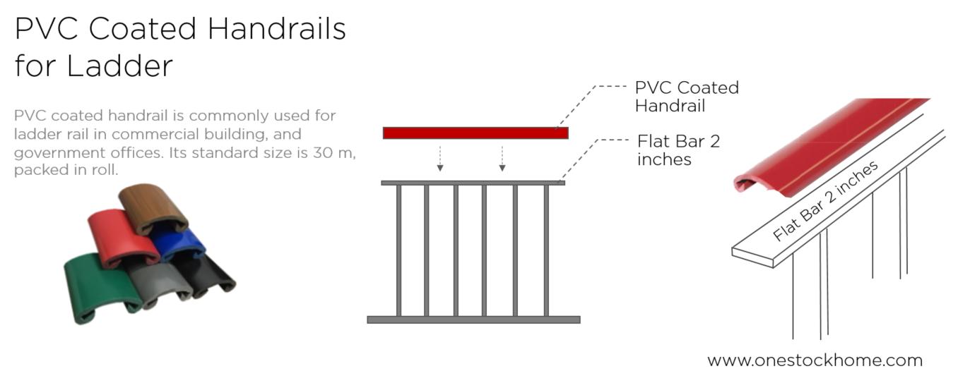 pvc,coated,handrail,best,price,ladder,
