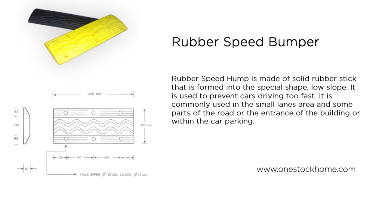 rubber,speed,hump,rubber speed hump,yellow,black,best,price