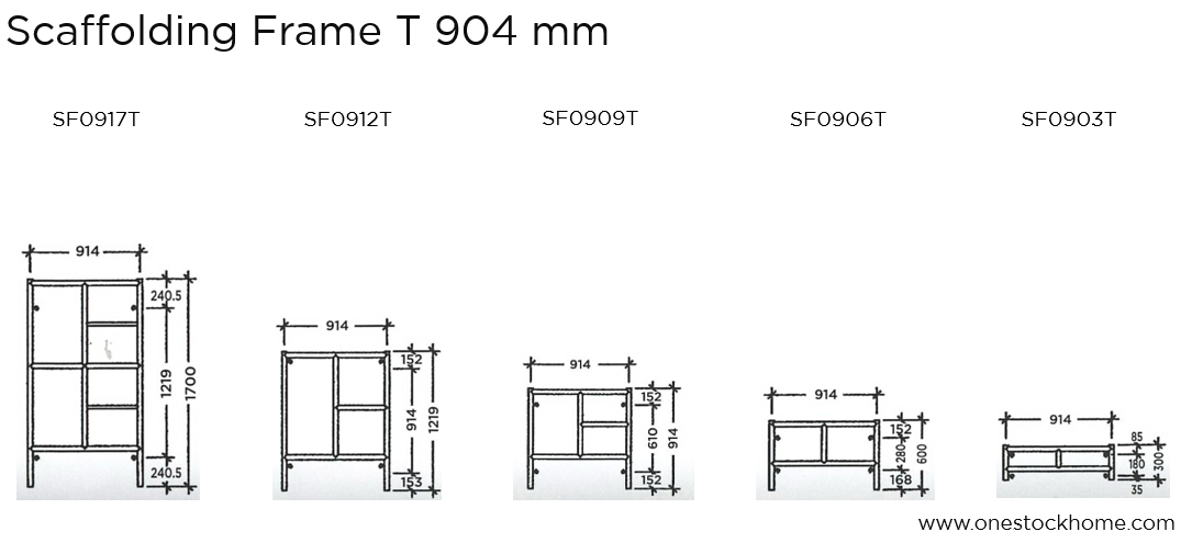 scaffolding,frame,914 mm,best,price